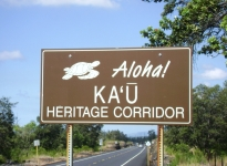 The Ka'u District is thought to be the first place Polynesian explorers landed in Hawaii.