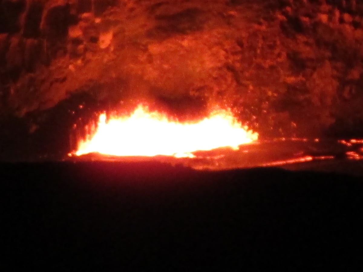 Zoom image of Lava Lake at Kilauea Caldera