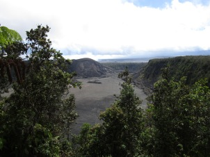 Kilauea Iki Overlook Volcanoes National park