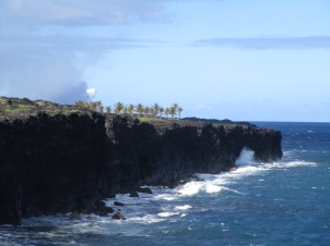 Coastline near Chain of Craters